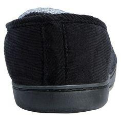 Men's Muk Luks Henry Loafer Slippers - Black Stripe L(12-13), Size: L (12-13)