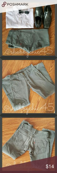 😎HP😎Men's Levi's 511 Skinny - Medium  Grey 28?30 Men's Levi's 511 jeans in good condition. There are no holes and hems are intact. But there are two small ink spots as noted in Picture 4. Jeans still have a lot of life left!! Price takes into consideration ink spots. PRICE IS FIRM.    ??Smoke free home. No trades. Open to reasonable offers unless marked as firm. Happy Poshing!! ?? Levi's Jeans Skinny