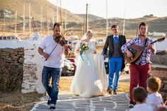 Wedding Greek island style traditional band| lafete