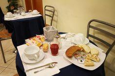 "Zara Hotel Naples Italy-""Continental""   breakfast included."