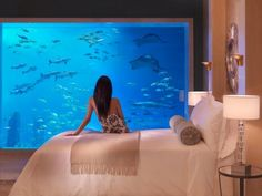 Underwater room at Atlantis the Palm, Dubai