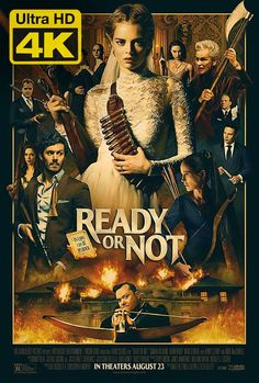 Film Completo Ready or Not Streaming ITAliano HD Gratis AltaDefinizione All Movies, Movies 2019, Movies Online, Movie Tv, Horror Movies, Hindi Movies, Scary Movies, Latest Movies, Action Movies
