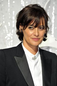 Ines de la Fressange Photo , Chanel Front Row , Paris Fashion Week Spring /