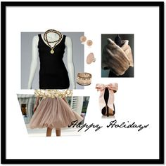 Happy Holidays! #holidays #style #winter #seasonal