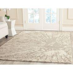 Safavieh Handmade Bella Winter Taupe Wool Rug (6' x 9') | Overstock™ Shopping - Great Deals on Safavieh 5x8 - 6x9 Rugs