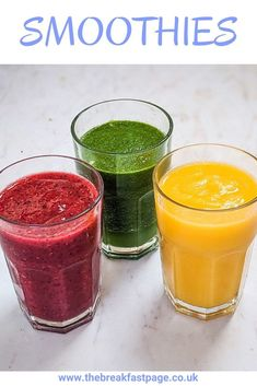 Smoothies are also a great way to get some fresh fruit in for a healthy start to your day. Smoothie Blender, Smoothie Prep, Smoothie Drinks, Fruit Smoothies, Smoothie Recipes, Orange Juice Smoothie, Pear Smoothie, Fruit And Veg, Fresh Fruit
