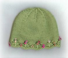 One Day Baby Hat by lv2knit, via Flickr  on Ravelry