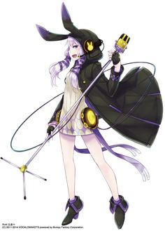Vocaloid - Yuzuki Yukari art by Ayakura Juu (Zerochan)