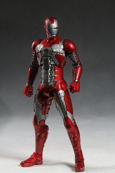 Iron Man MKV sixth scale action figure by Hot Toys Mundo Marvel, Marvel Vs, Marvel Heroes, Iron Man Mark 2, Iron Man Art, Hot Toys Iron Man, Iron Man Avengers, Gundam, Transformers