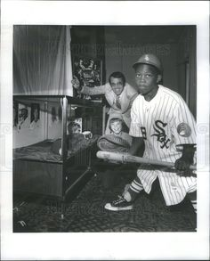 Baseball gear, John Nevels cheers.Photo measures 8 x 10 in.
