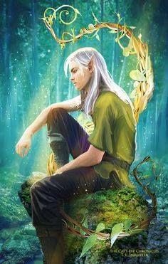 Elfes , Fées et fantaisie.# 3889