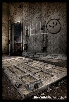 Incredible photography of abandoned psychiatric hospitals. This has LONG been a subject of fascination for me.