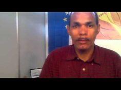 [Vídeo] Participante: Beto Diogo, marroquinero. Cabo Verde. II Feria Tricontinental de Artesanía. Tenerife