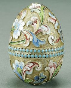 20c russian silver enamel egg 3 antip kuzmichev russian silver ...600 x 738   140.4KB   www.antiqforum.com