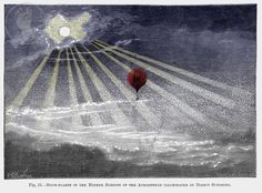 Hot Air Balloon in Sun and Snow, Airship from 1890s Victorian Steampunk Engraving, Giclee Print Reproduction par SGPrints sur Etsy https://www.etsy.com/fr/listing/75425915/hot-air-balloon-in-sun-and-snow-airship