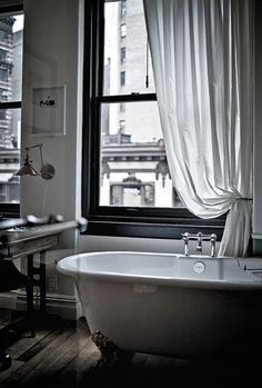 All tub faucets should be on the side!