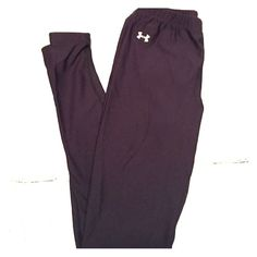 Under Armour Coldgear Fitted Tights size Small Black Under Armour Coldgear leggings. I have a second pair in a different size that fits me better so I'm selling these. Excellent condition! 10% off on bundles of 2+ items Under Armour Pants