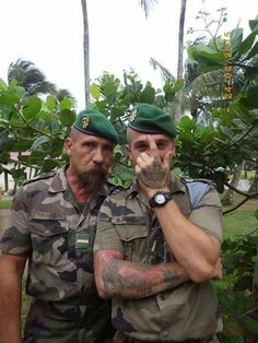 French foreign legion....bmf's