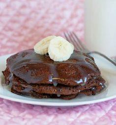 Chocolate Brownie Pancakes