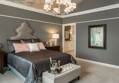 You searched for Brookstone Homes Cincinnati - Housetrends Sophisticated Bedroom, Home Trends, New Builds, Beautiful Bedrooms, Cincinnati, Building A House, Home Improvement, New Homes, Floor Plans