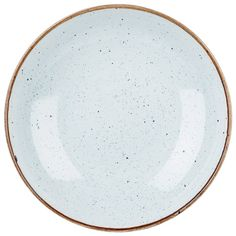 Churchill's Super Vitrified Stonecast dinner plates have a hand-painted eggshell blue colouring for a unique rustic table presentation.