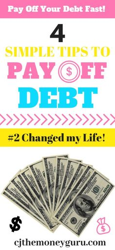 Do you want to learn how to pay off debt quickly? Read my article about the 4 simple tips to pay off your debt fast. Even if you have a low income, I will show you how you can pay off credit cards and other debts. You will have extra money every mont Best Student Loans, Student Loan Debt, Paying Off Credit Cards, Best Credit Cards, Credit Score, Hot Wheels, Debt Snowball, Thing 1, Credit Card Interest
