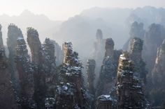 📍 Zhangjiajie National Forest Park - 📸 Michael Libis | Discovered via Mustsee - http://mustsee.earth