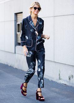 Trend Report: Velvet Shoes via @WhoWhatWear
