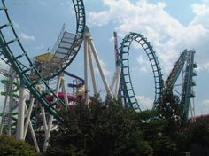 Head Spin at Geauga Lake (used to be Mind Eraser when park was Six Flags) Geauga Lake Amusement Park, Amusement Parks, Blue Cotton Candy, Cedar Point, Six Flags, Roller Coasters, Elephant Ears, Lake Park, Clays