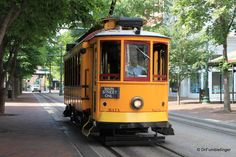 Memphis -- Downtown Trolley