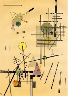 Strings,1924,by Wassily Kandinsky
