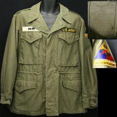 vintage WWII m43 field jacket