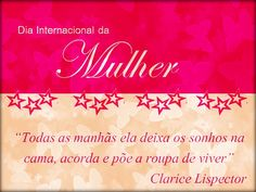 dia-internacional-das-mulheres-8-marco-2013-12 Sayings And Phrases, I Will Fight, Family Love, Ladies Day, Reiki, Good Books, Google Images, Neon Signs, Thoughts