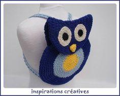 Tuto Sac à dos Hibou au Crochet - Inspirations Créatives