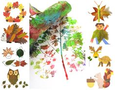 Kid crafts for fall. Love these leaf prints, and her other ideas! 12 Fall Kids Crafts — My Blessed Life™ Kids Crafts, Leaf Crafts, Crafts To Do, Fall Crafts, Arts And Crafts, Kids Diy, Tree Crafts, Summer Crafts, Thanksgiving Crafts