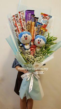 Cute Birthday Gift, Birthday Candy, Friend Birthday Gifts, Gift Bouquet, Candy Bouquet, Dyi Decorations, Chocolate Flowers Bouquet, Flower Box Gift, Candy Arrangements