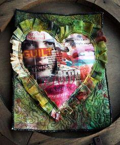 Quilt journalling classes from Julie Fei-Fan Balzer. Looks like heaven!