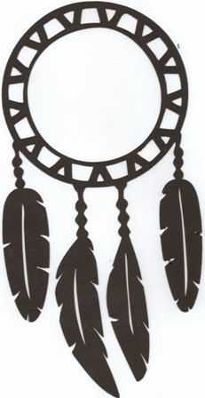 Dreamcatcher Shilouette Pinterest Silhouettes And