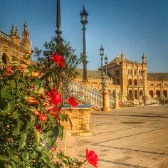 Plazade España Sevilla, pintamialma