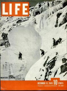 Life 1945 Mountain Climbing