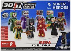 3D Character Creator DC Comics Mega R…