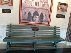 Sometimes I am sorely tempted to sit on this bench.