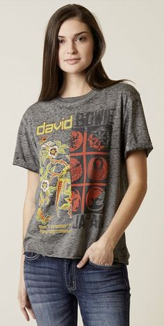 Vintage Band T-Shirts Graphic Tees : Goodie Two Sleeves David Bowie Band T-Shirt | Buckle