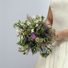 Wedding Herb Bouquet with Lily of the Valley