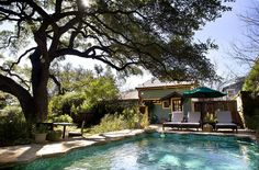 The pool at Park Lane Guest House in #Austin, #Texas.