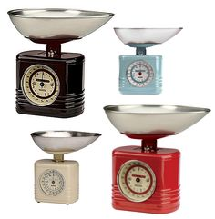 Typhoon 50s inspired kitchenware! Swing back into style with these vintage scales.