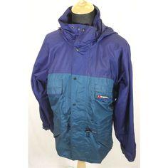 Berghaus – Size (Medium) - Purple & Green - Aquafoil Hiking jacket