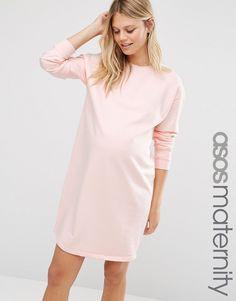 Изображение 1 из Oversize-платье из трикотажа для беременных ASOS Maternity