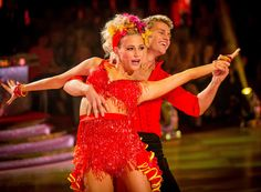 Pixie Lott and Trent Whiddon on Strictly Come Dancing 2014: Week Five
