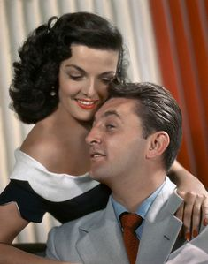 """jane russell, robert mitchum (""""his kind of woman"""", dir. Hollywood Icons, Hollywood Actor, Golden Age Of Hollywood, Hollywood Stars, Classic Hollywood, Old Hollywood, Jane Russell, Classic Actresses, Classic Films"""